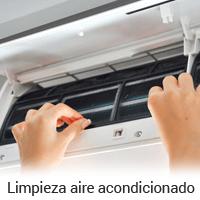 Limpieza de aires acondicionados