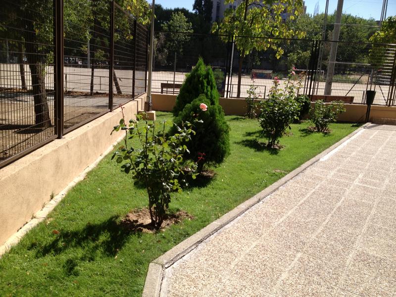 Jardin en sevilla