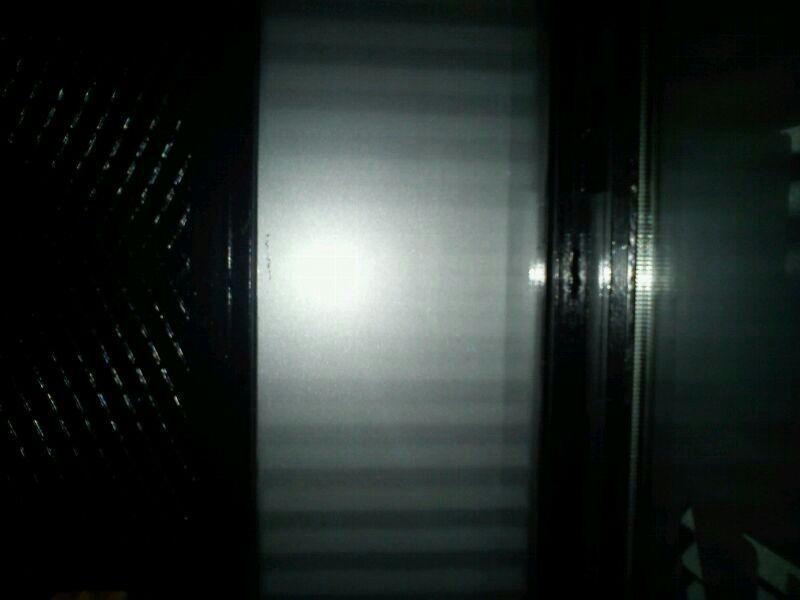 Limpieza puerta cristal despues